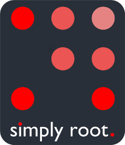 simply root Footer Logo